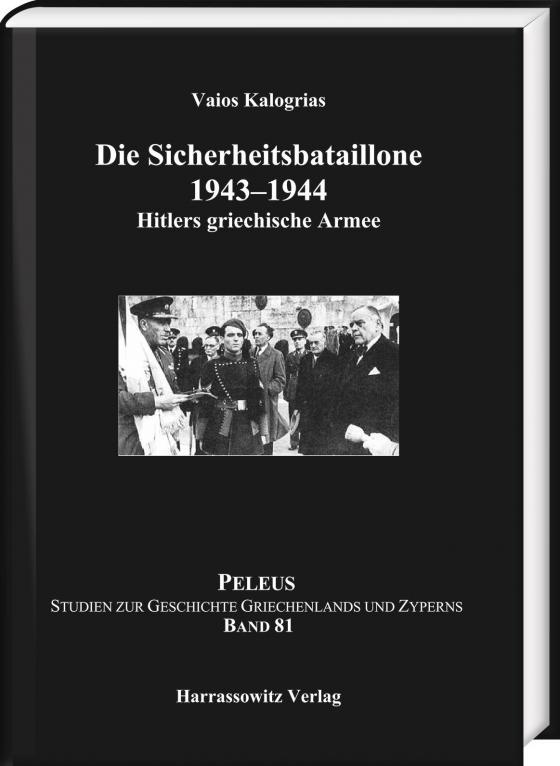 Cover-Bild Die Sicherheitsbataillone 1943–44