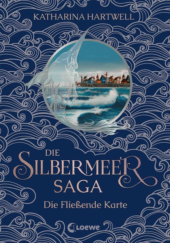 Cover-Bild Die Silbermeer-Saga - Die Fließende Karte