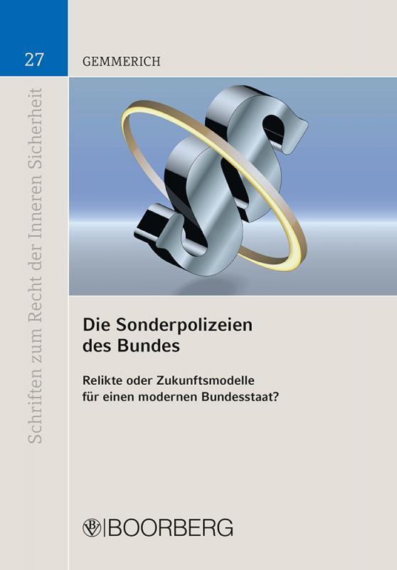 Cover-Bild Die Sonderpolizeien des Bundes