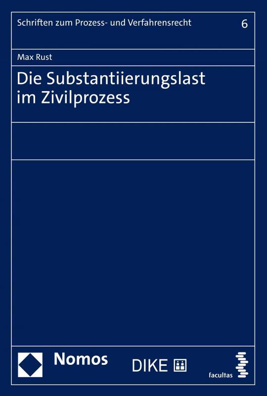 Cover-Bild Die Substantiierung im Zivilprozess