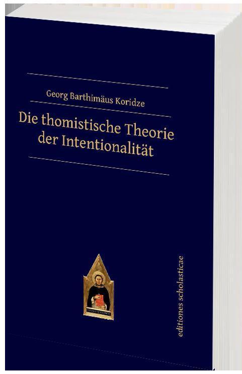 Cover-Bild Die thomistische Theorie der Intentionalität
