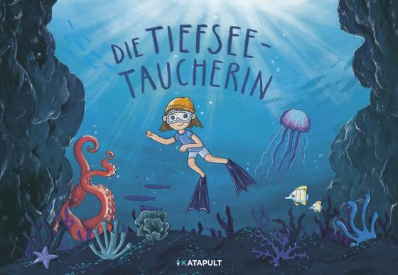 Cover-Bild Die Tiefseetaucherin