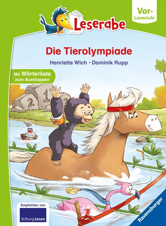 Cover-Bild Die Tierolympiade