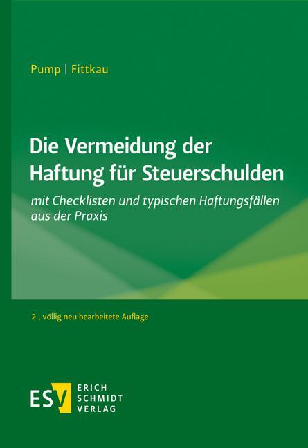 Cover-Bild Die Vermeidung der Haftung für Steuerschulden