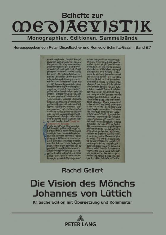Cover-Bild Die Vision des Mönchs Johannes von Lüttich