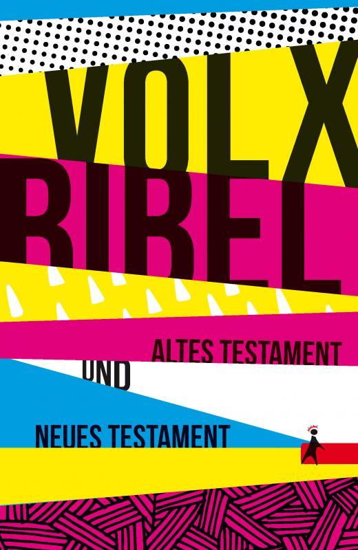 Cover-Bild Die Volxbibel - Altes und Neues Testament, Taschenausgabe: Motiv Streifen-Design