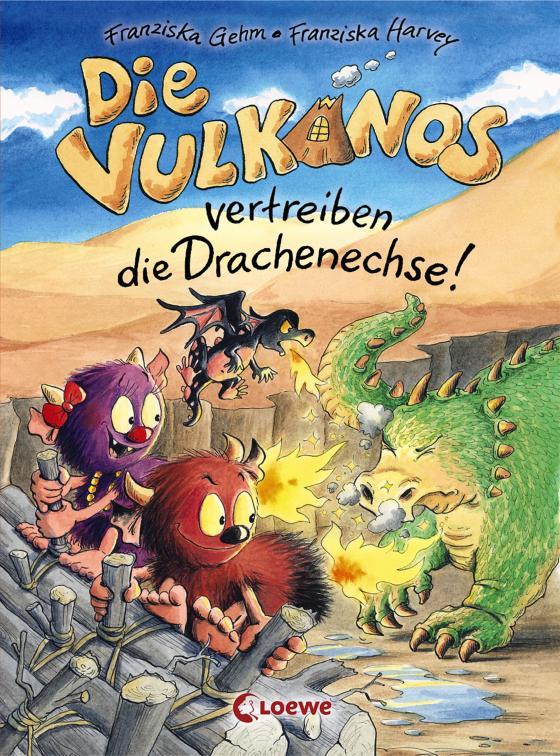 Cover-Bild Die Vulkanos vertreiben die Drachenechse!