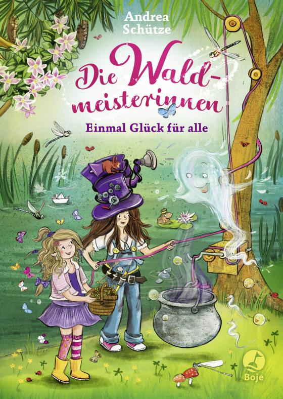 Cover-Bild Die Waldmeisterinnen - Einmal Glück für alle