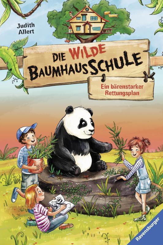 Cover-Bild Die wilde Baumhausschule, Band 2: Ein bärenstarker Rettungsplan