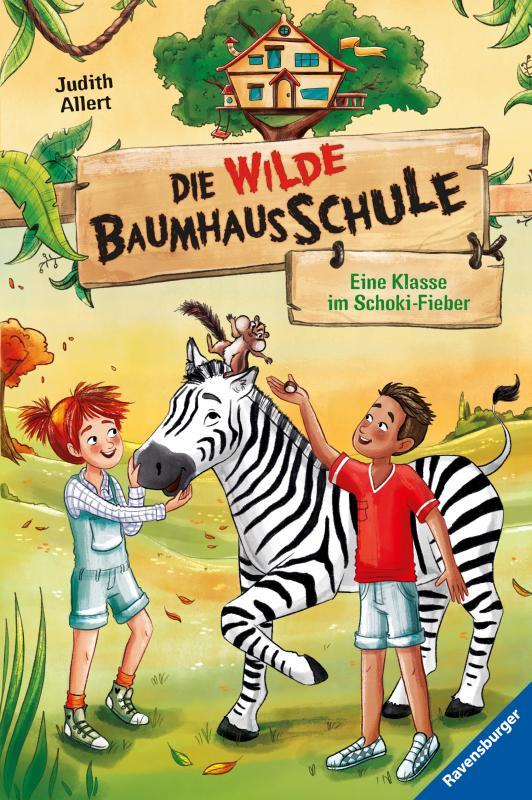 Cover-Bild Die wilde Baumhausschule, Band 4: Eine Klasse im Schoki-Fieber