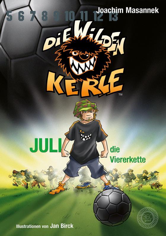 Cover-Bild Die Wilden Kerle - Juli, die Viererkette