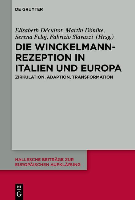 Cover-Bild Die Winckelmann-Rezeption in Italien und Europa