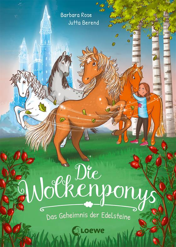 Cover-Bild Die Wolkenponys (Band 1) - Das Geheimnis der Edelsteine
