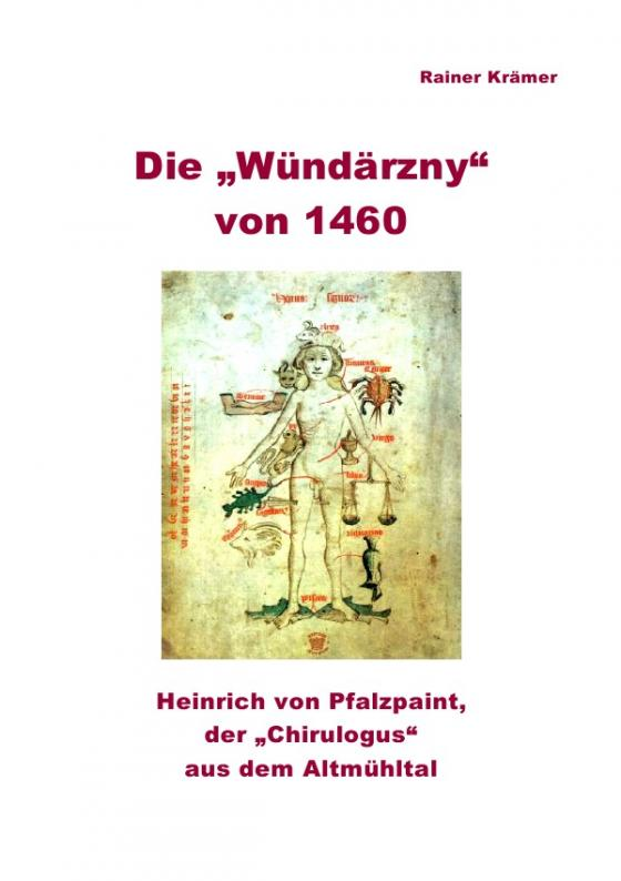 """Cover-Bild Die """"Wündärzny"""" von 1460"""