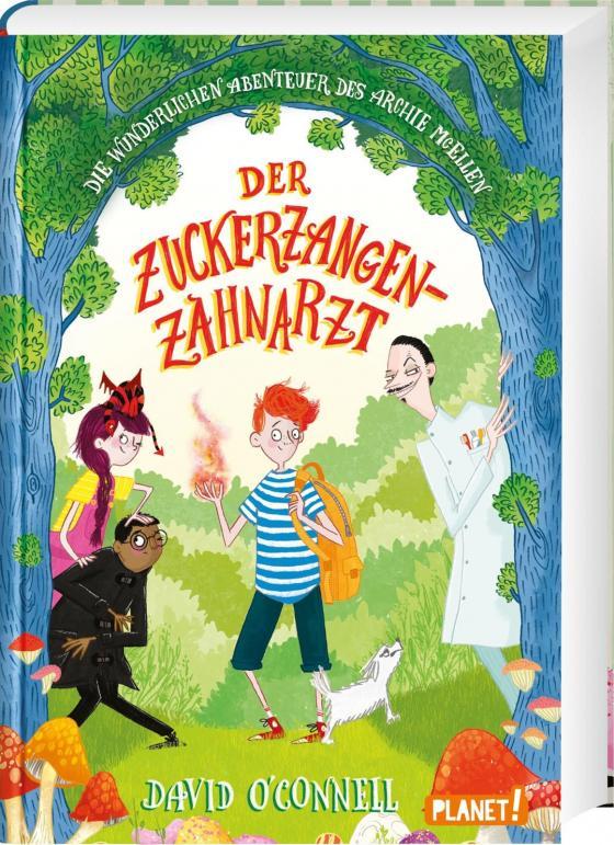 Cover-Bild Die wunderlichen Abenteuer des Archie McEllen 2: Der Zuckerzangen-Zahnarzt