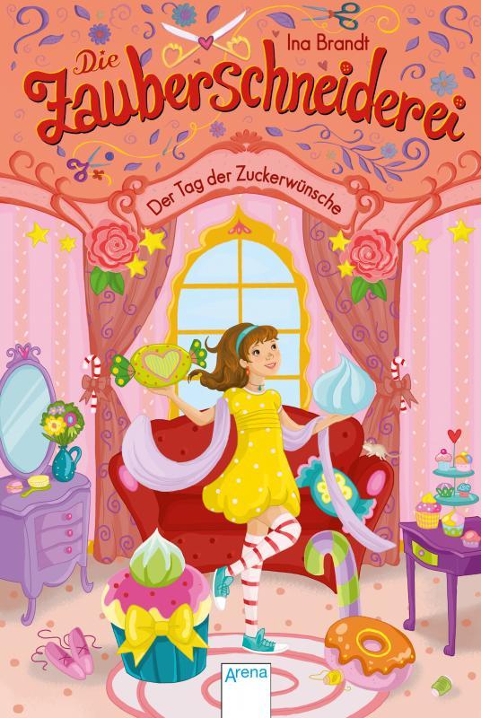 Cover-Bild Die Zauberschneiderei / Die Zauberschneiderei (5). Der Tag der Zuckerwünsche