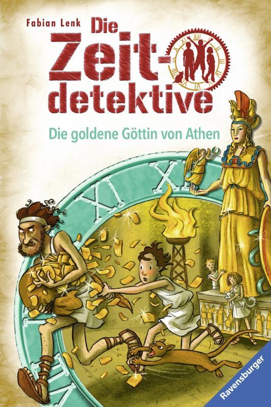 Cover-Bild Die Zeitdetektive, Band 40: Die goldene Göttin von Athen