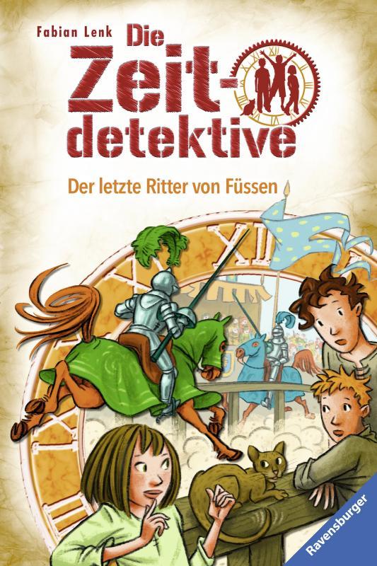 Cover-Bild Die Zeitdetektive, Band 41: Der letzte Ritter von Füssen