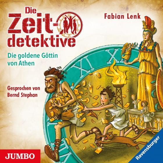 Cover-Bild Die Zeitdetektive. Die goldene Göttin von Athen