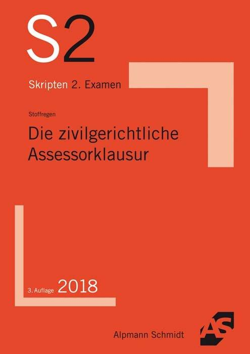 Cover-Bild Die zivilgerichtliche Assessorklausur