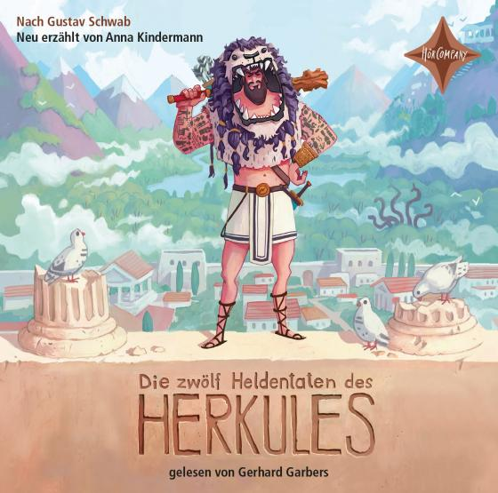 Cover-Bild Die zwölf Heldentaten des Herkules