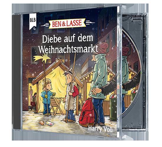 Cover-Bild Diebe auf dem Weihnachtsmarkt