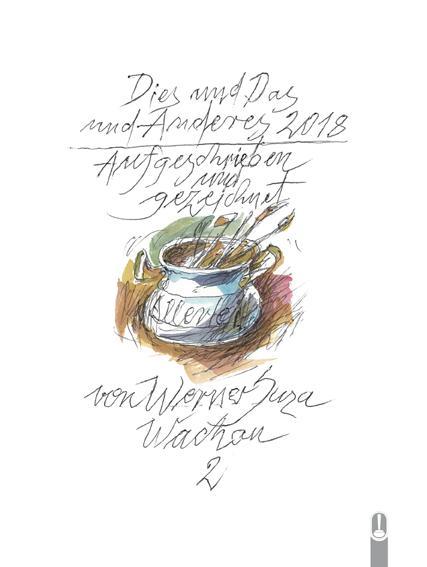 Cover-Bild Dies und das und Anderes 2018 - Kurzweiliges II