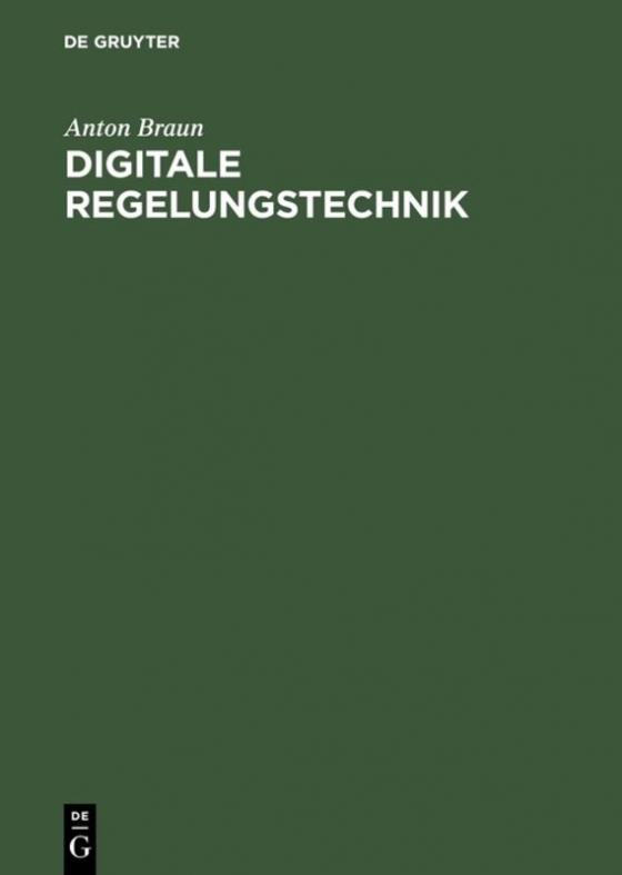 Cover-Bild Digitale Regelungstechnik