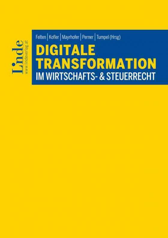 Cover-Bild Digitale Transformation im Wirtschafts- & Steuerrecht