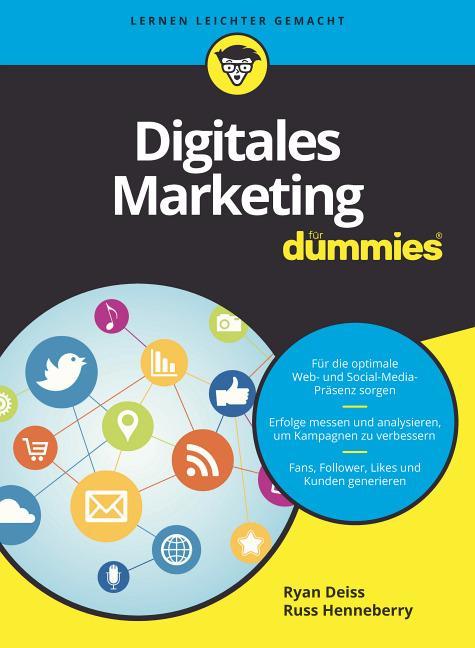 Cover-Bild Digitales Marketing für Dummies