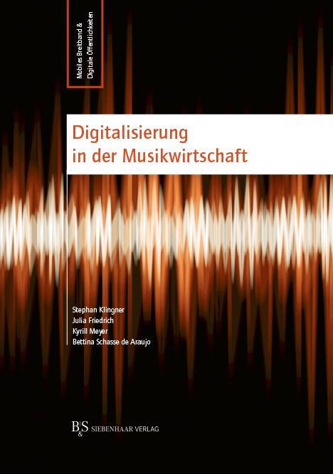 Cover-Bild Digitalisierung in der Musikwirtschaft