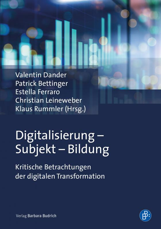 Cover-Bild Digitalisierung – Subjekt – Bildung