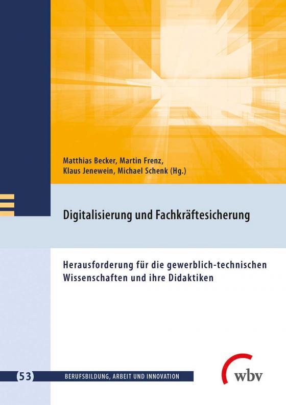 Cover-Bild Digitalisierung und Fachkräftesicherung