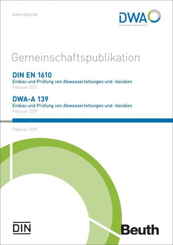 Cover-Bild DIN EN 1610 und DWA-A 139