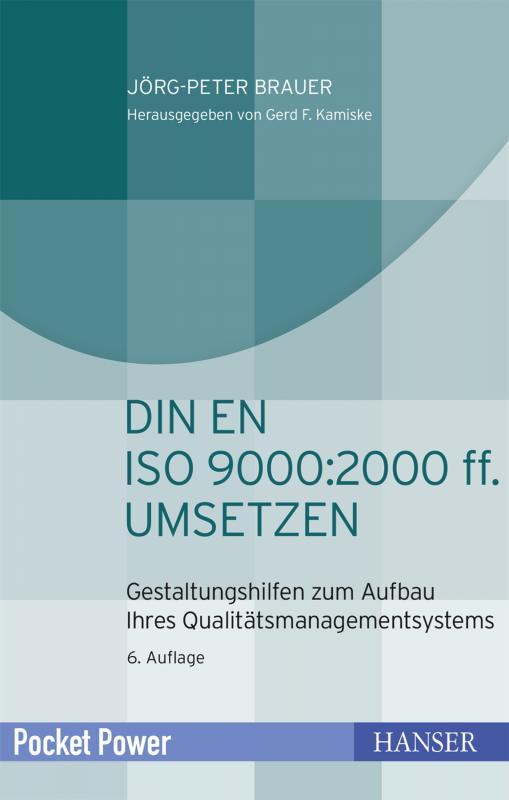 Cover-Bild DIN EN ISO 9000:2000 ff. umsetzen