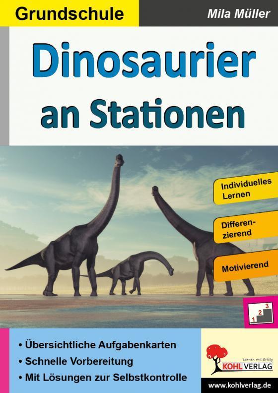Cover-Bild Dinosaurier an Stationen / Grundschule