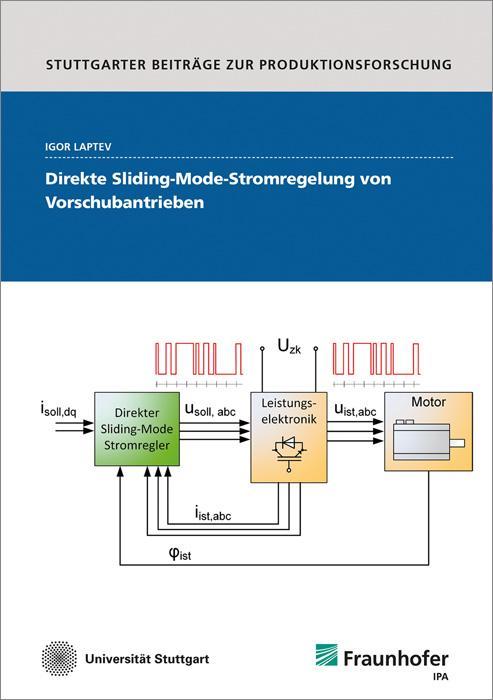 Cover-Bild Direkte Sliding-Mode-Stromregelung von Vorschubantrieben.