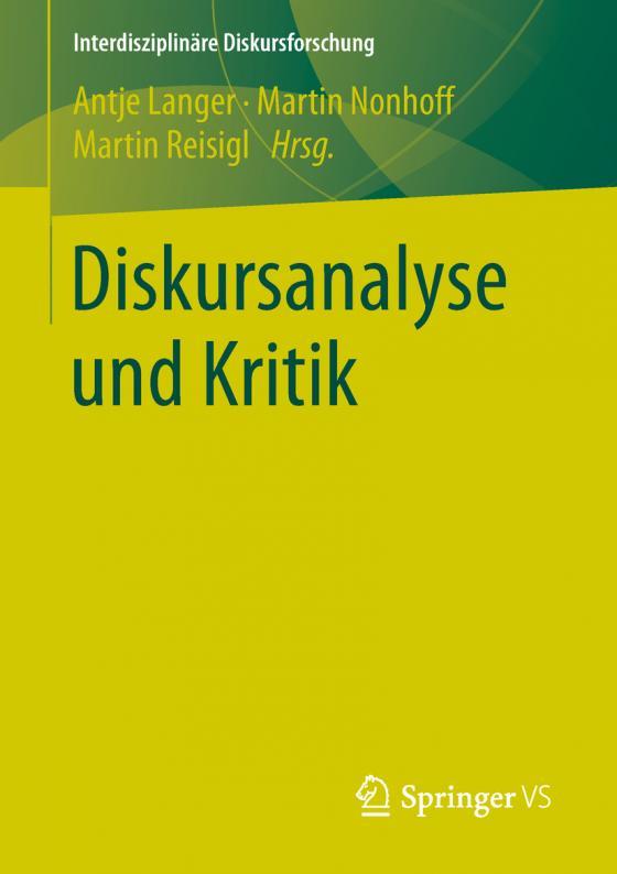 Cover-Bild Diskursanalyse und Kritik