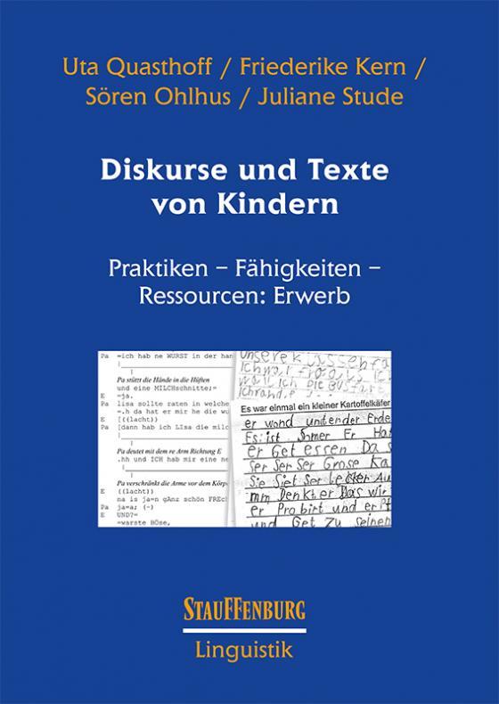 Cover-Bild Diskurse und Texte von Kindern