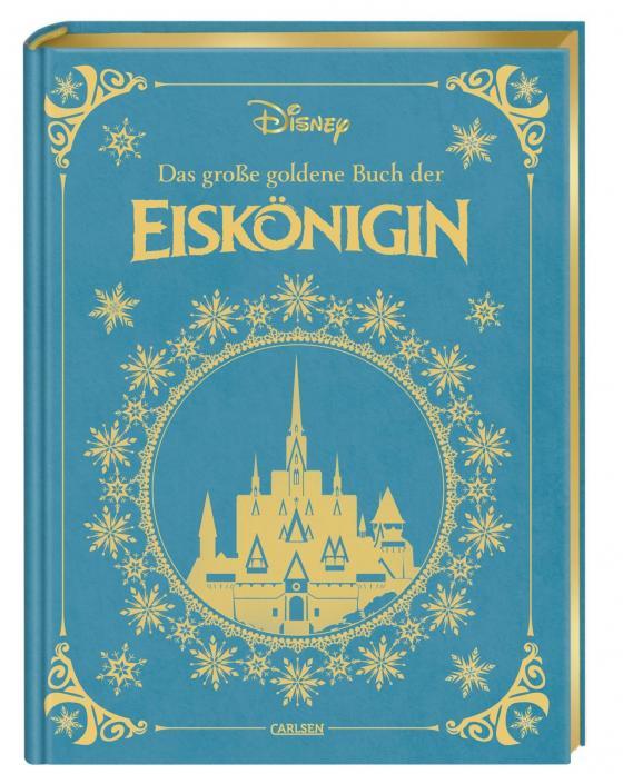 Cover-Bild Disney: Das große goldene Buch der Eiskönigin