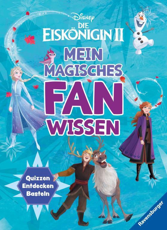 Cover-Bild Disney Die Eiskönigin 2: Mein magisches Fanwissen