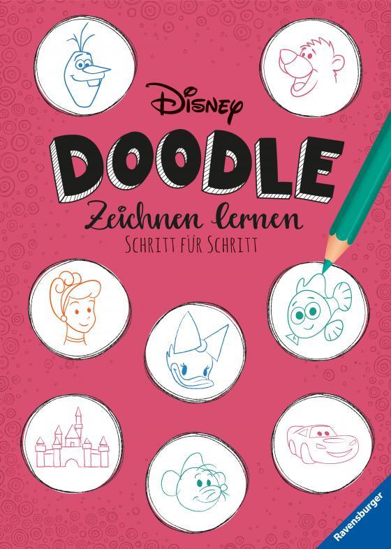 Cover-Bild Disney Doodle - zeichnen lernen: Schritt für Schritt