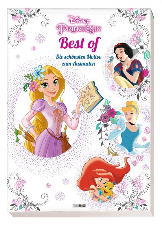 Cover-Bild Disney Prinzessin Best of: Die schönsten Motive zum Ausmalen