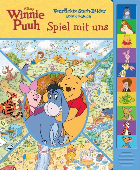 Cover-Bild Disney Winnie Puuh - Spiel mit uns