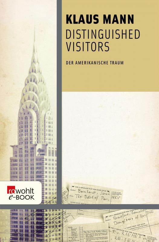 Cover-Bild Distinguished Visitors