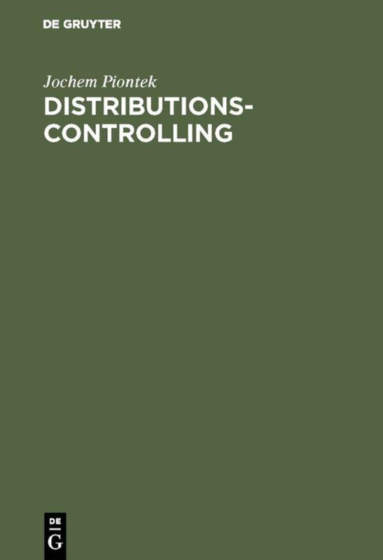 Cover-Bild Distributionscontrolling