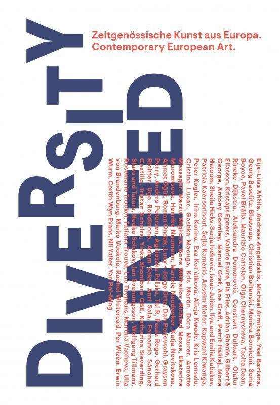 Cover-Bild Diversity United. Zeitgenössische Kunst aus Europa