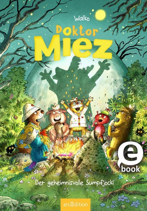 Cover-Bild Doktor Miez - Der geheimnisvolle Sumpfjocki