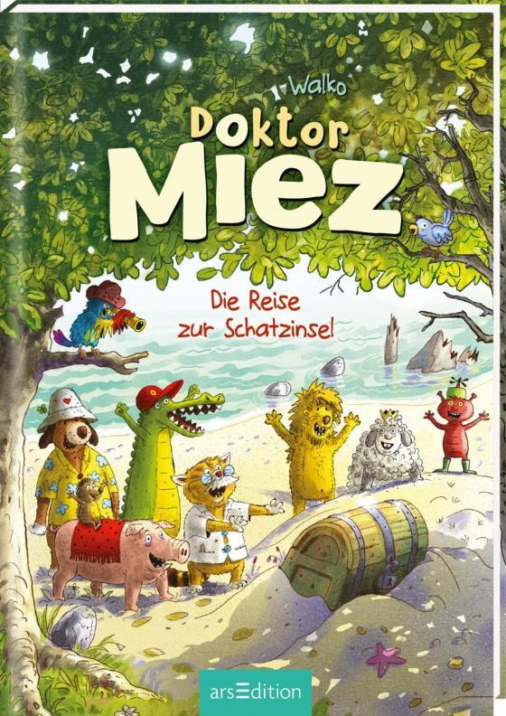 Cover-Bild Doktor Miez - Die Reise zur Schatzinsel