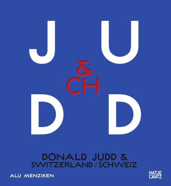 Cover-Bild Donald Judd & Switzerland
